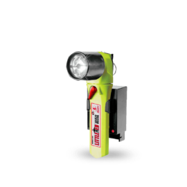 Rechargeable Led-flashlight With Atex-zone 1