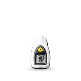 Infrared thermometer pocket size with laser pointer